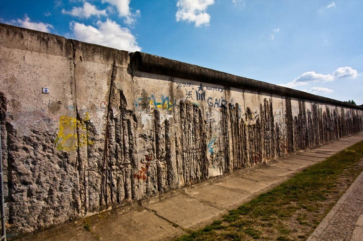Découverte du mur de Berlin