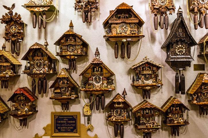 Horloges vintages allemandes