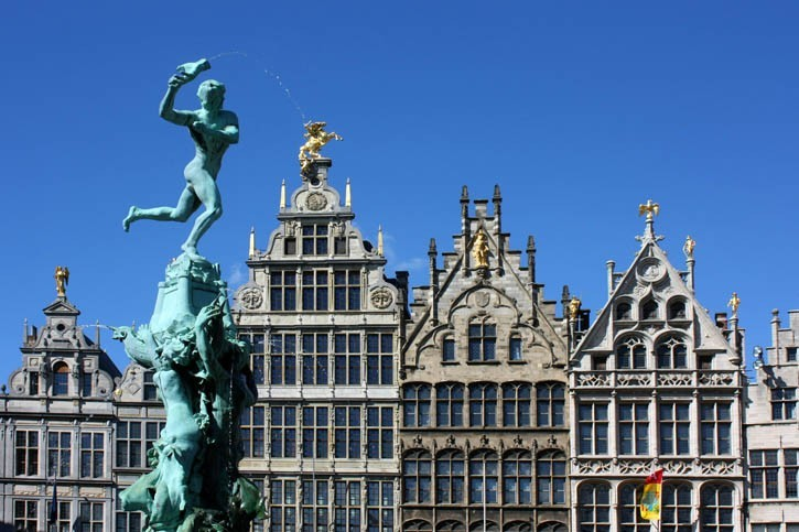 Visite d'Anvers