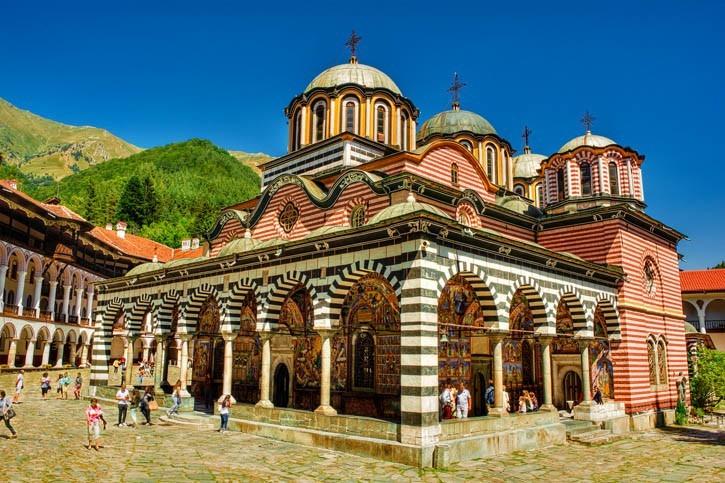 Visite du monastère de Rila