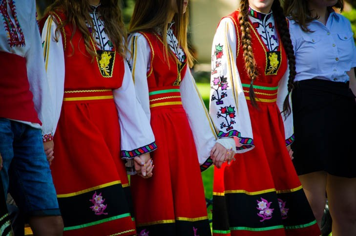 Costumes Bulgares Traditionnels