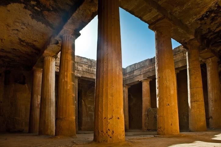 Découverte des Tombes des Rois à Paphos