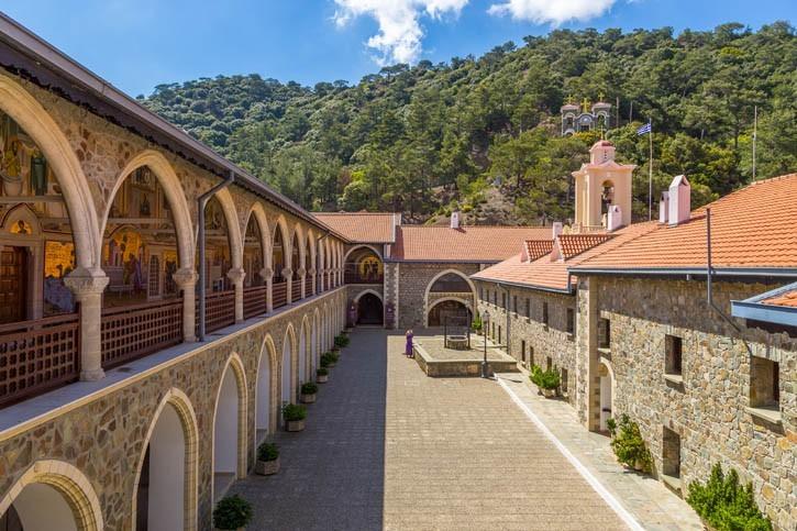 Visite du Monastère de Kykkos