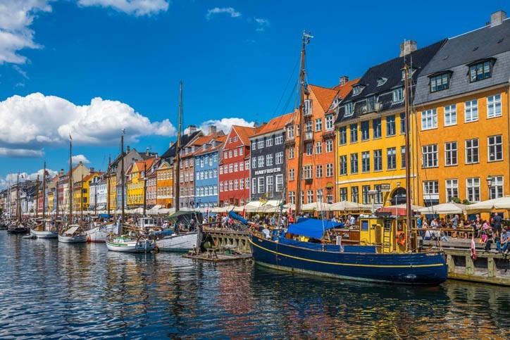 Découverte des Maisons colorées à Nyhavn