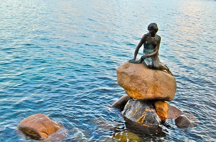 Découverte de la Statue de La Petite Sirène à Copenhague