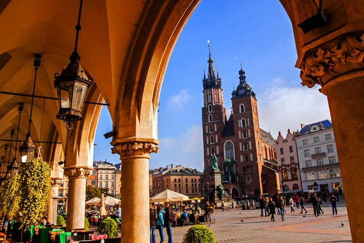 Visite de Cracovie