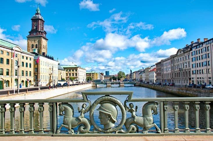 Visite de Göteborg