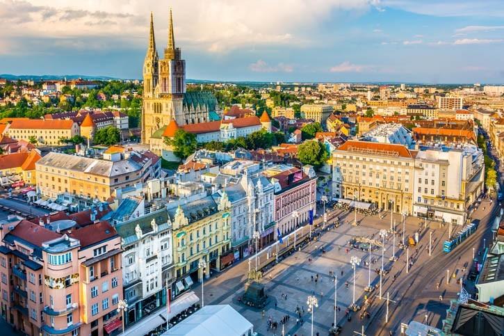 Visite de Zagreb