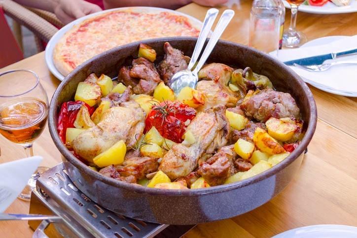 Salade de Poulple (Peka)