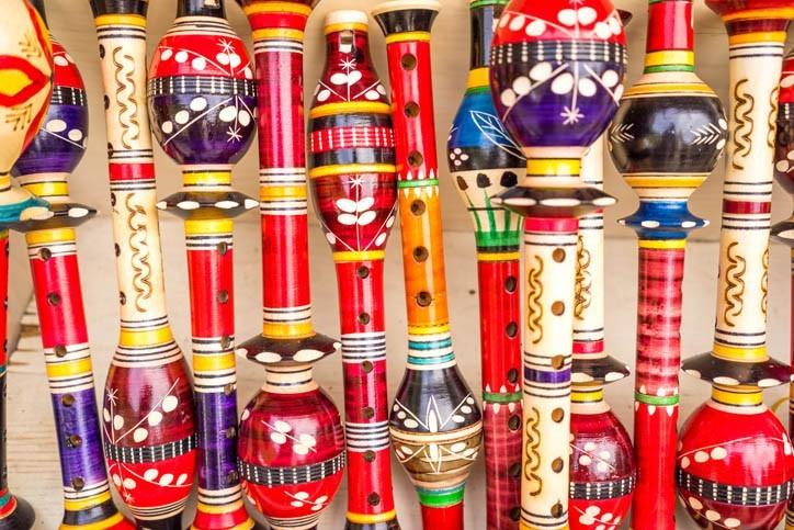 Flûtes monténégrines