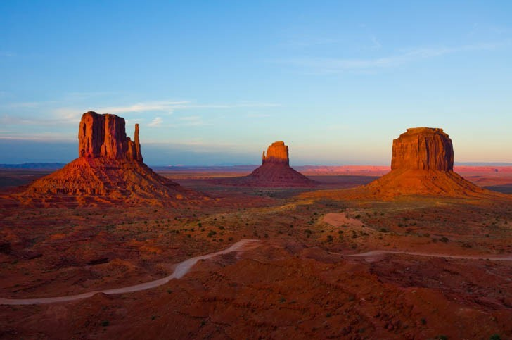 Viiste de Monument Valley