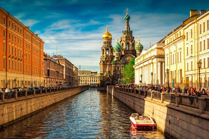 Visite de Saint Petersbourg