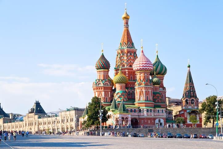 Visite de Moscou