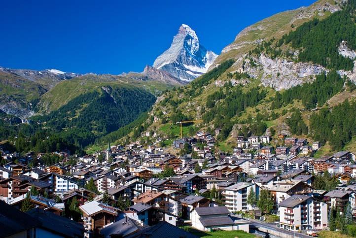 Visite de Zermatt