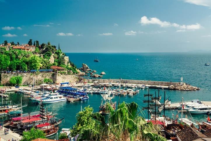 Visite d'Antalya