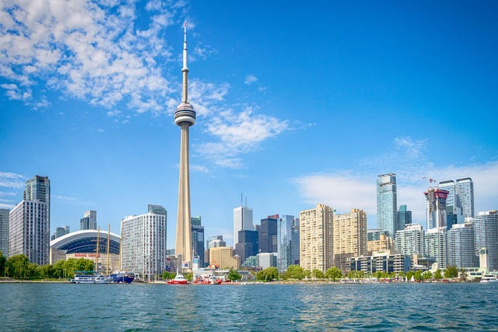 Visite de Toronto