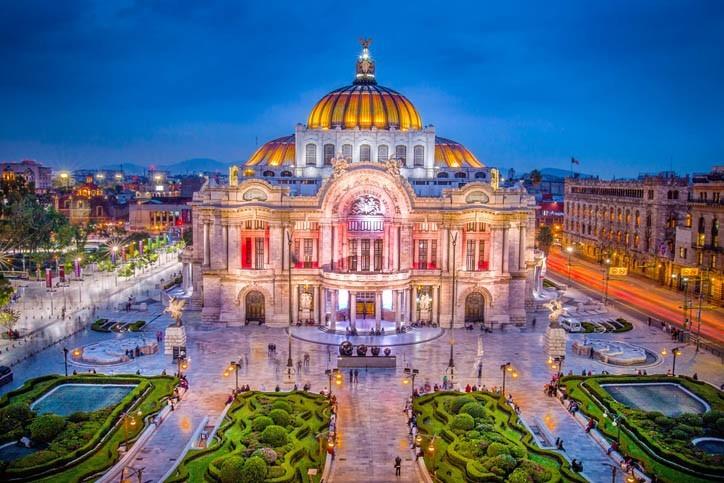 Visite de Mexico
