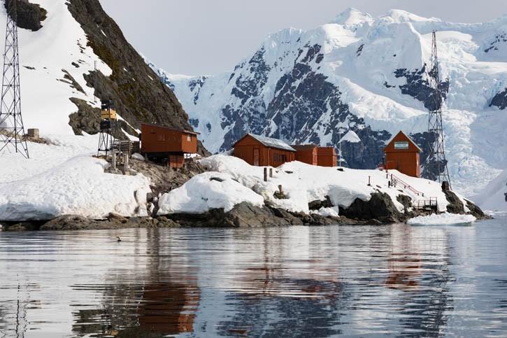 Visite de la base antarctique