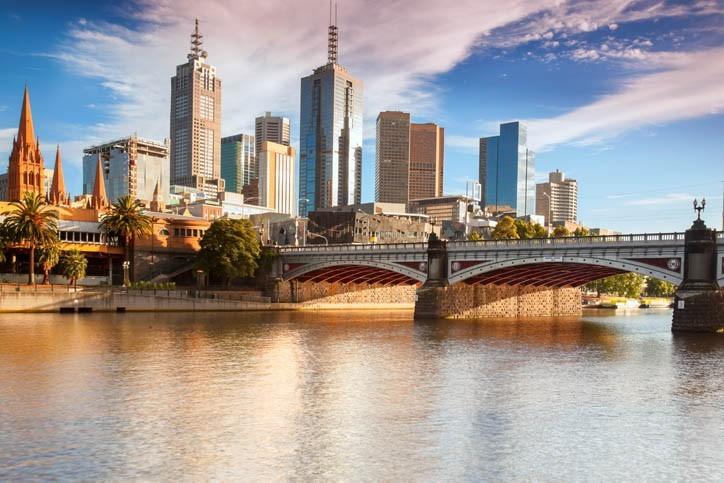 Visite de Melbourne