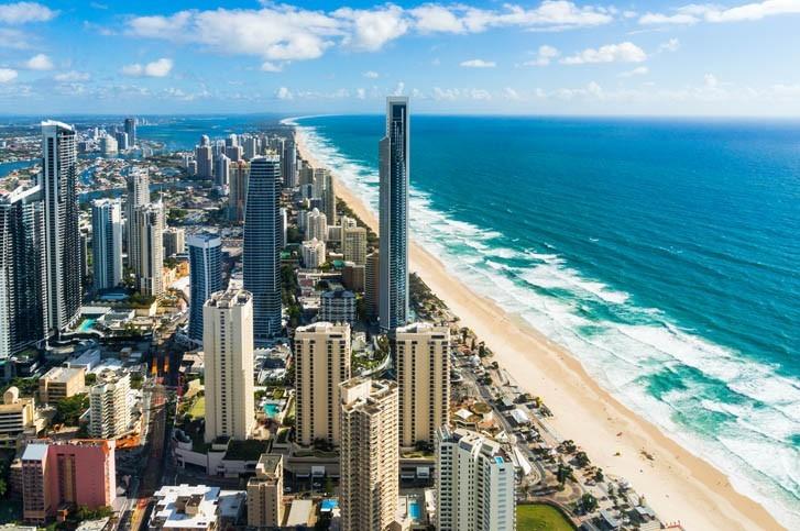 Découverte de la Gold Coast