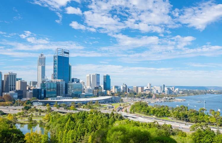 Visite de Perth