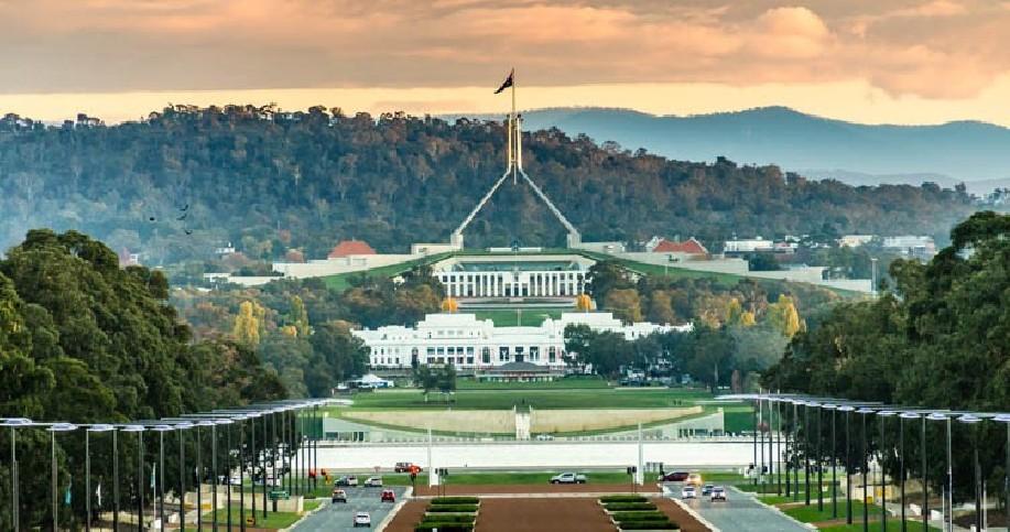 Visite de Canberra