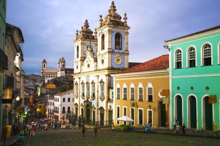 Visite de Salvador de Bahia