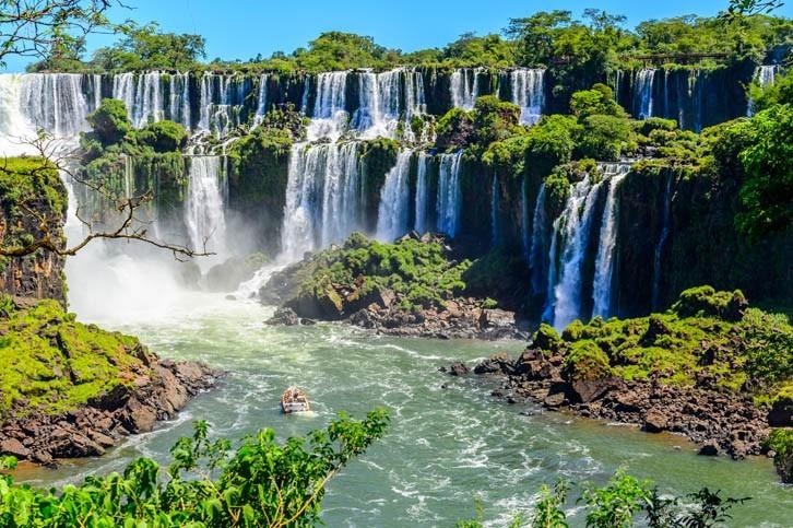 Visite des Chutes d'Iguazu