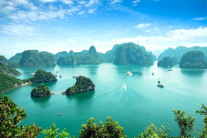 Croisière au Vietnam