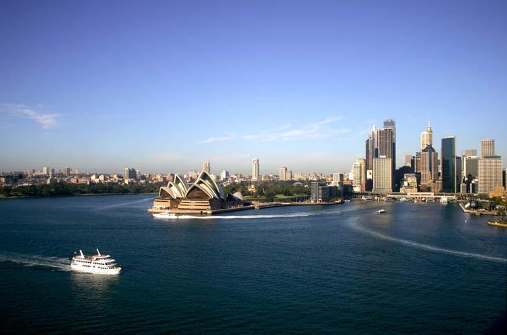 Croisière Nouvelle-Zélande/Australie