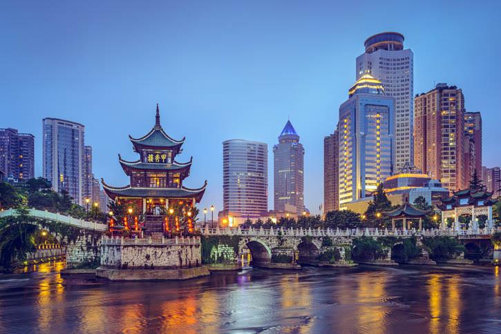 Croisière en Chine