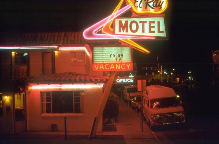1 nuit en motel