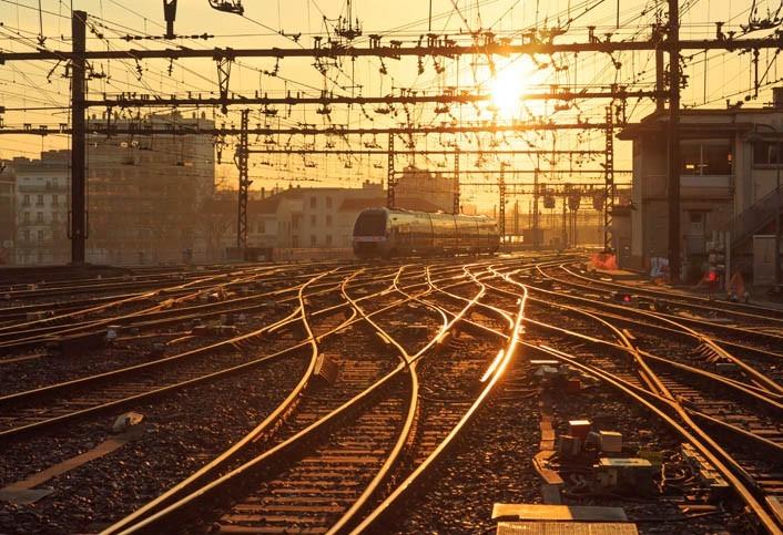 Billet de train trajet interne