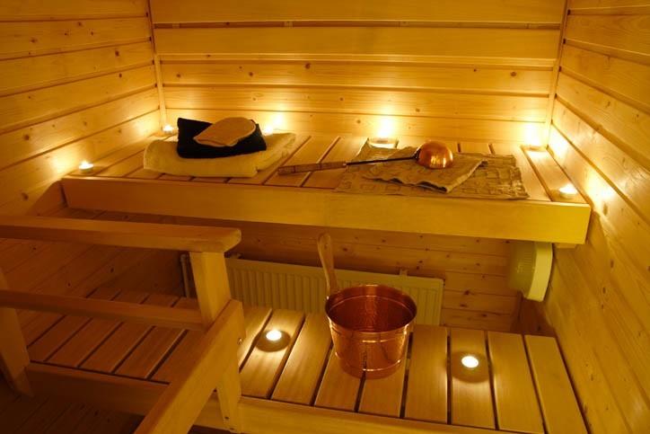 Accés au sauna