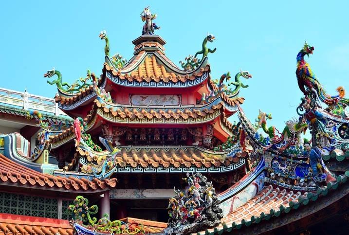 Visite de Temples Asiatiques