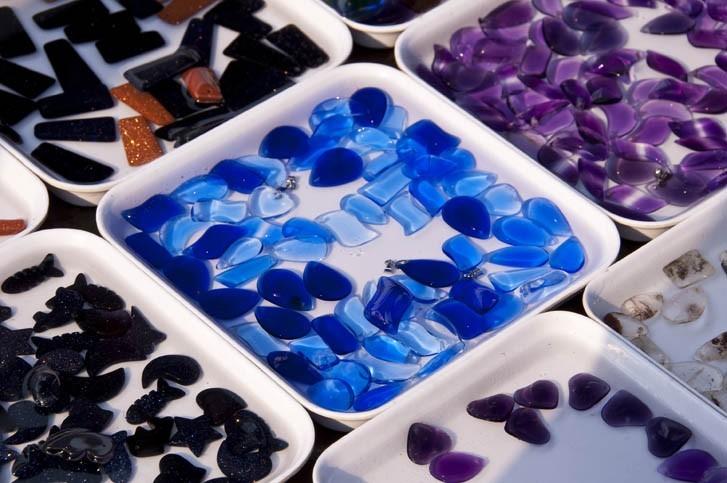 Diamants, pierres précieuses