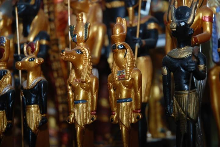 Statuettes de Dieux Egyptiens