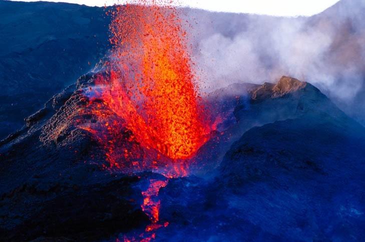 Pierre du volcan