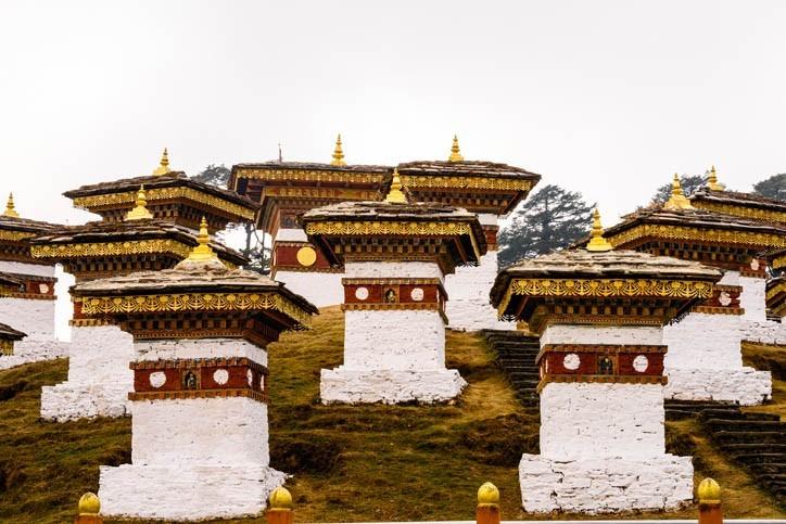Visites de monastères Bhoutanais