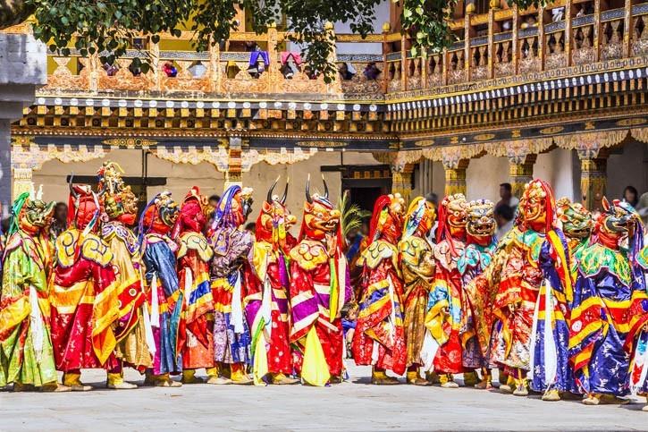 Spectacle de Chants et Danses du Bhoutan
