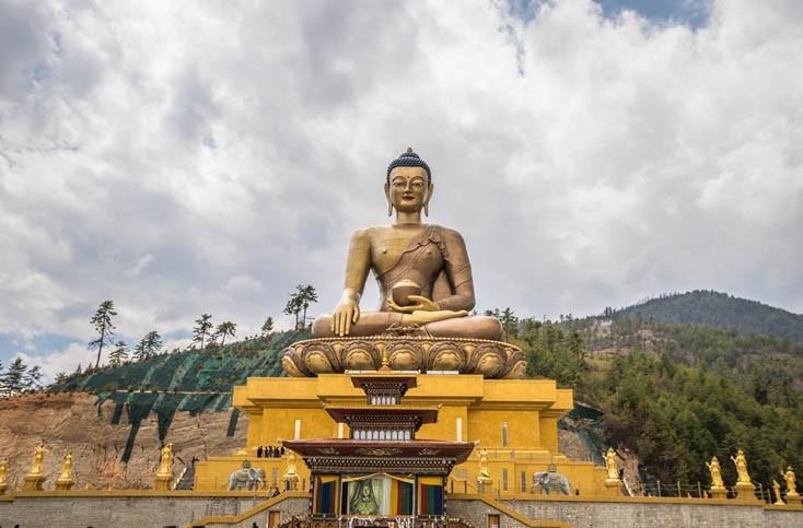 Visite du Bhudda Point