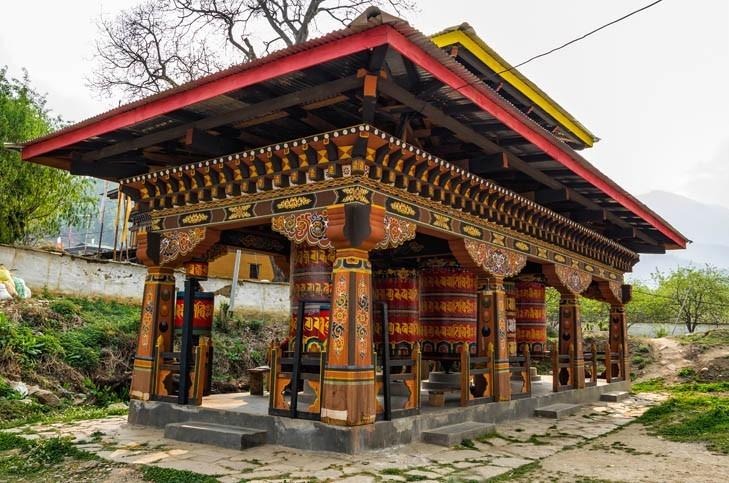 Visite du Kyichu lhakhang (lieu sacré)