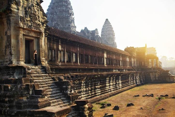 Découverte de l'ancienne cité royale d'Angkor
