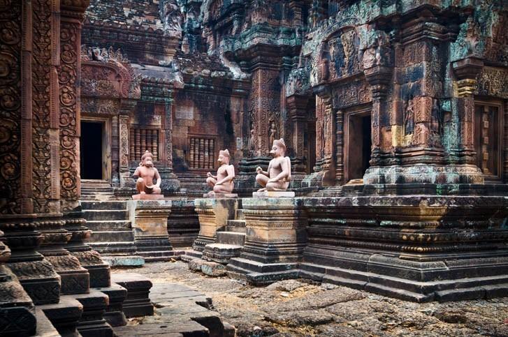 Visite du Temple de Banteay Srei (citadelle des femmes)