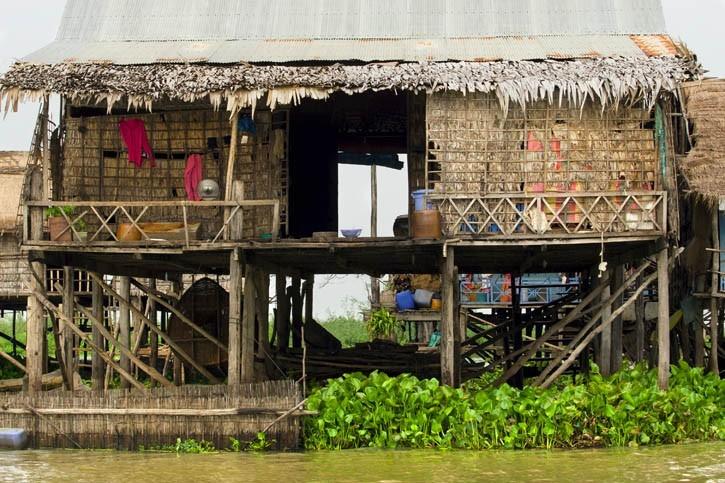 Visite du village de Kompong Khleang