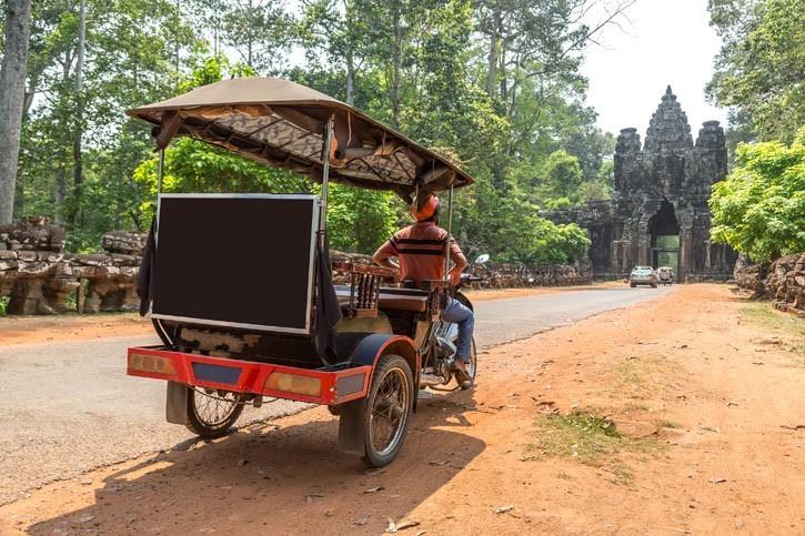 Visite d'Angkor Thom en tuktuk