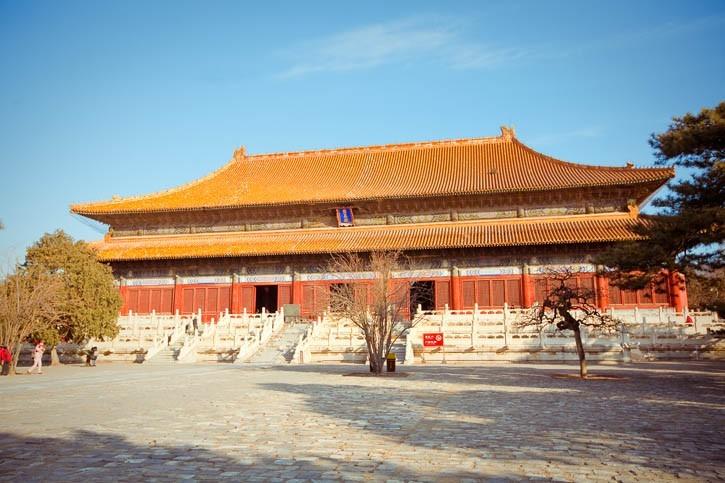 Découverte des tombeaux impériaux Ming