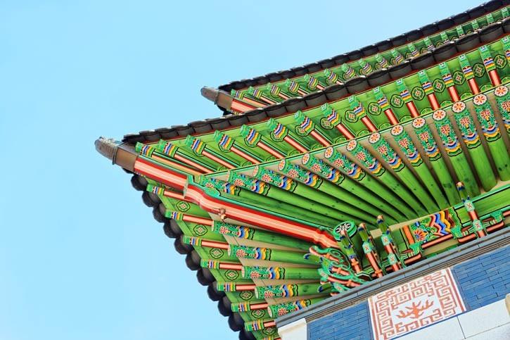 Visite du palais Gyeongbokgung