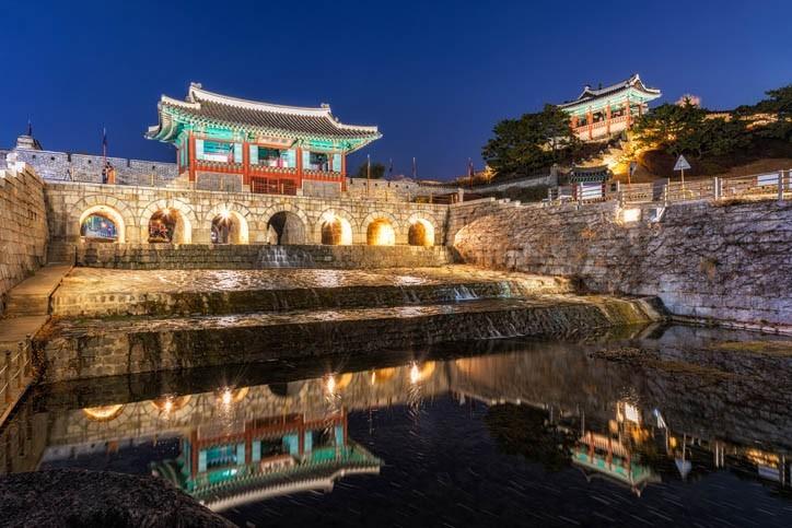 Visite de la Forteresse de Hwaseong