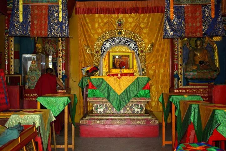Rencotre avec des moines bouddhistes mongoles